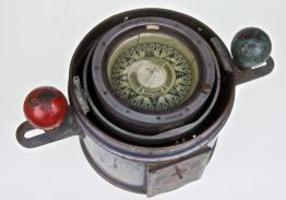 John Lilly & Gillie Ltd Binnacle Compass