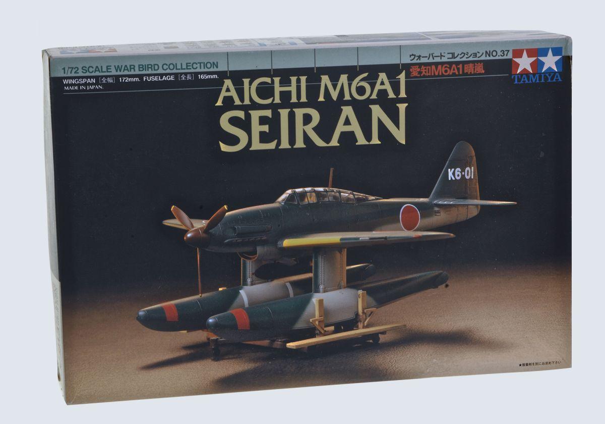 AICHI M6A1 SEIRAN WWII SEAPLANE - TAMIYA 1/72 scale