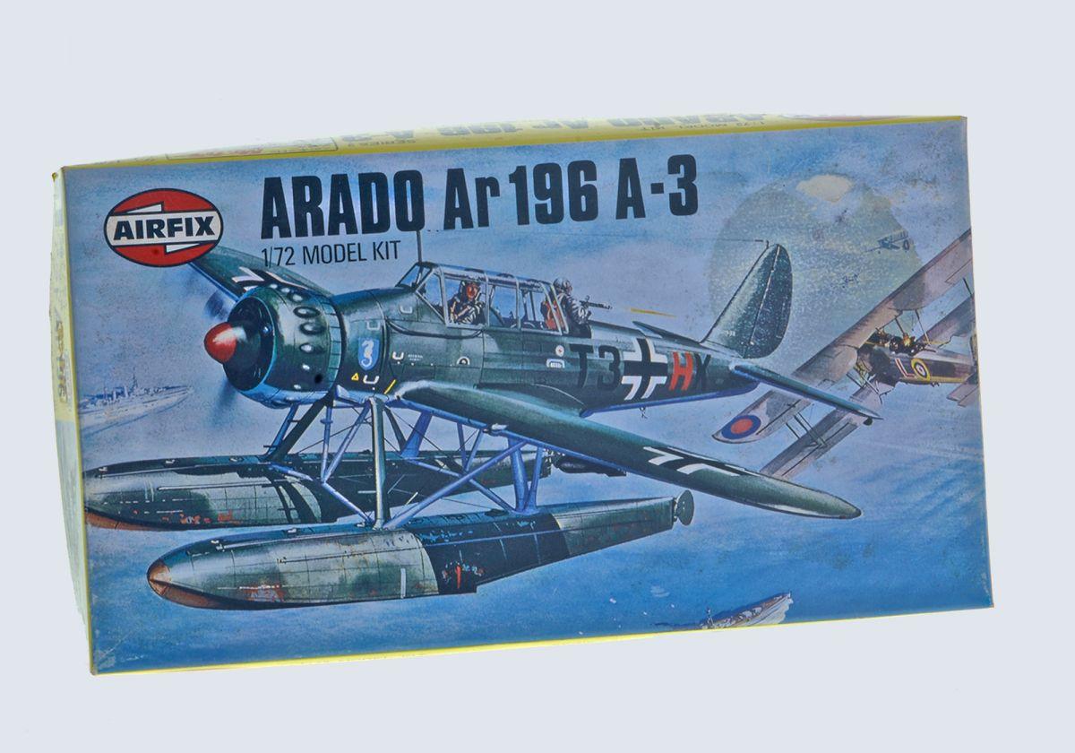 ARADO AR 196A-3 WWII SEA PLANE - AIRFIX 1/72 scale