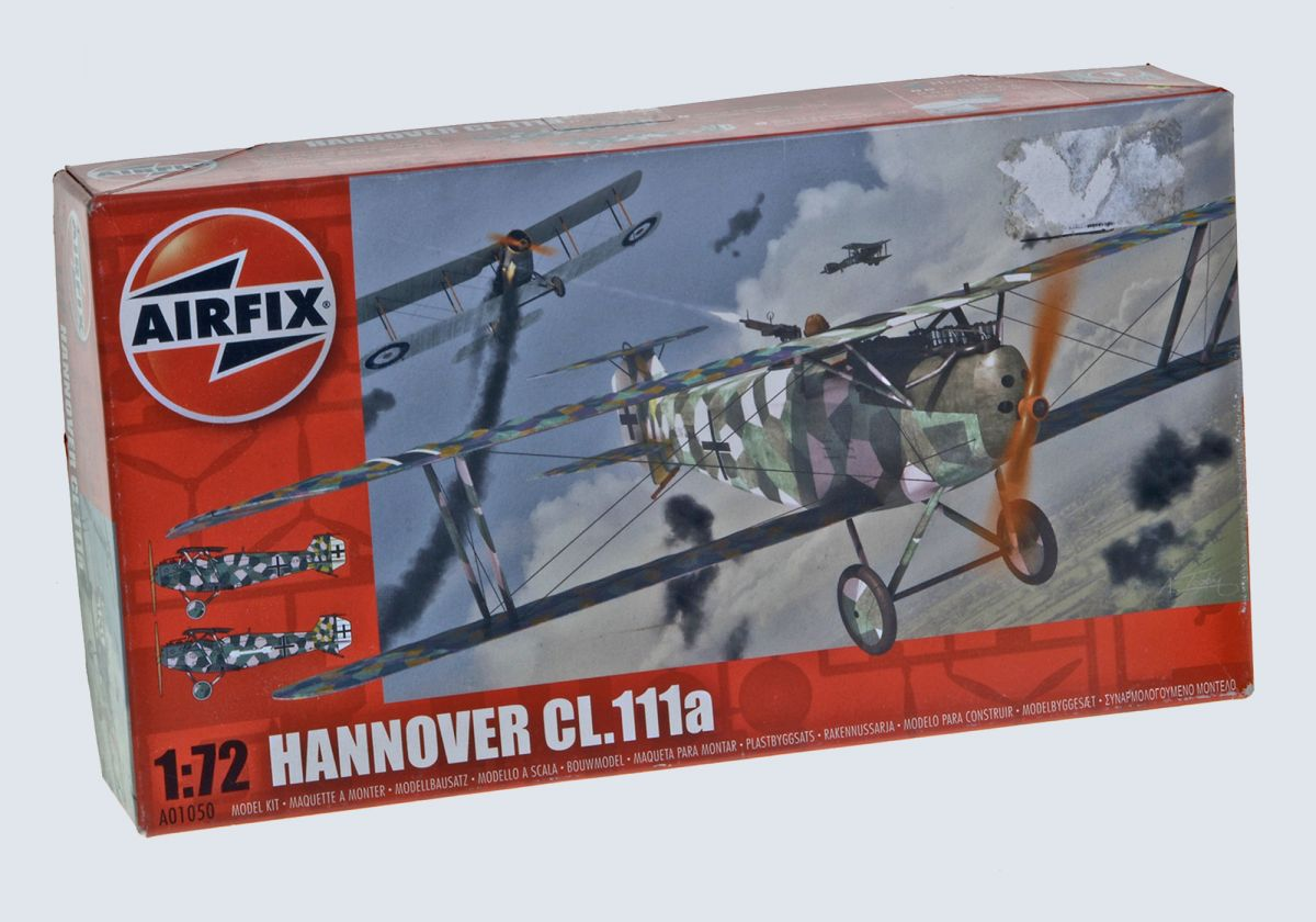 HANNOVER CL.111a WWI FIGHTER - AIRFIX 1/72 scale