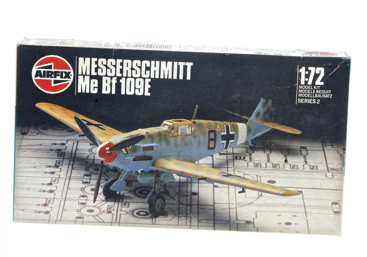 MESSERSCHMITT 109 WWII FIGHTER - AIRFIX 1/72 scale