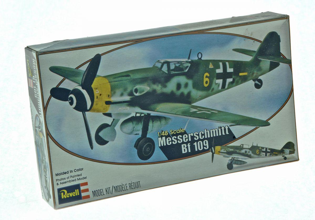 MESSERSCHMITT 109 WWII FIGHTER - REVELL 1/48 scale
