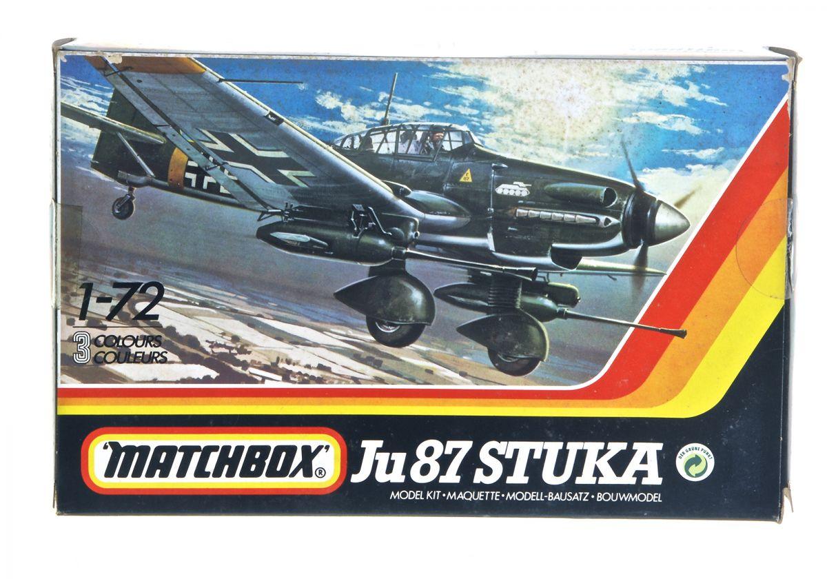JU 87 STUKA WWII DIVE BOMBER - MATCHBOX  1/72 scale