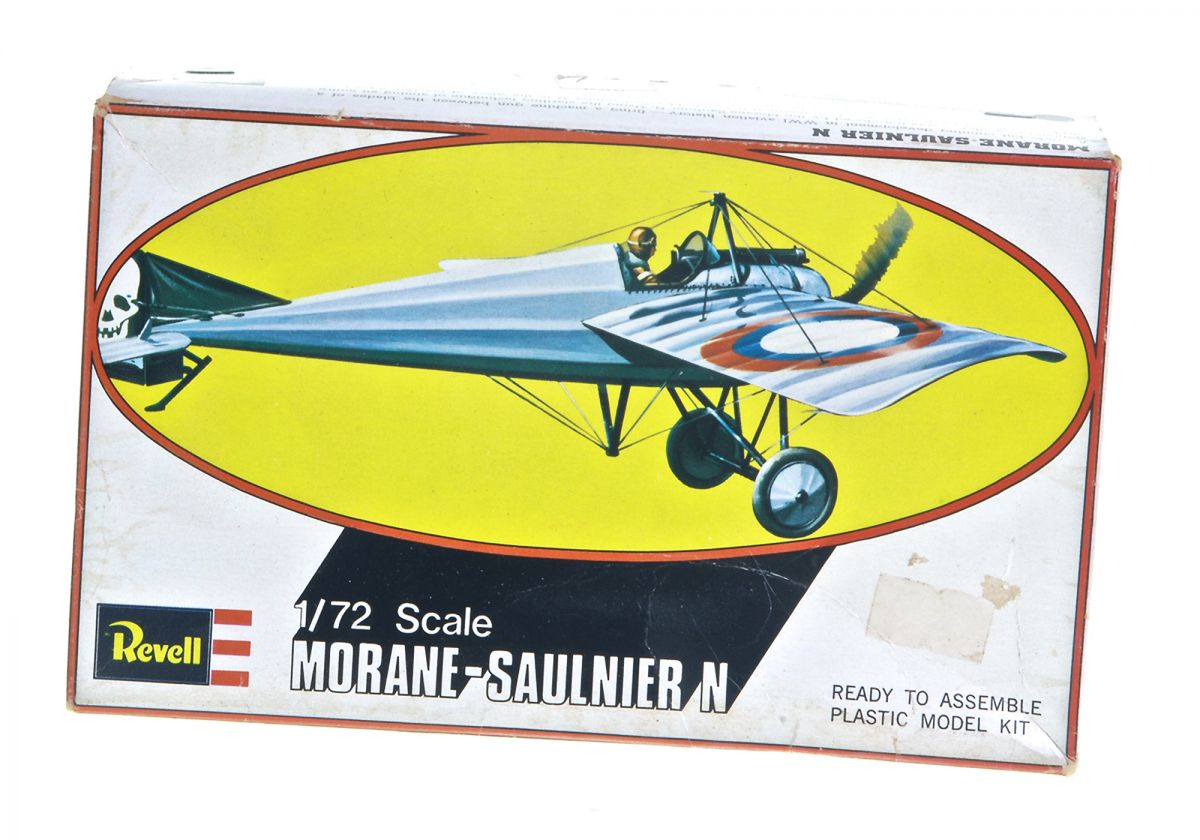 MORANE SAULNIER N WWI FIGHTER - REVELL 1/72 scale
