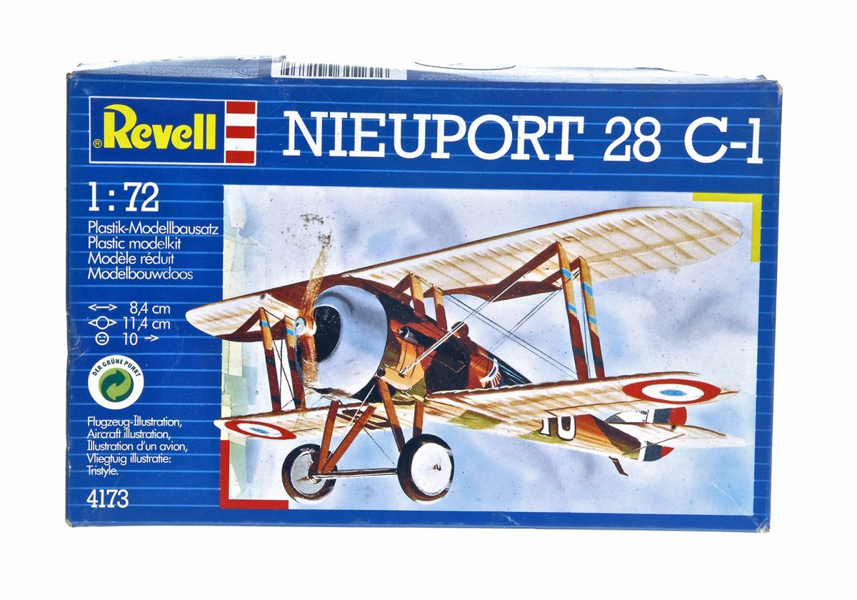 NIEUPORT N.28 C1 WWI FIGHTER - REVELL 1/72 scale (TWIN KIT)