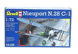 NIEUPORT N.28 C-1 WWI FIGHTER - REVELL 1/72 scale