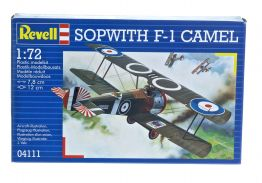 SOPWITH F1 CAMEL WWI FIGHTER - REVELL 1/72 SCALE