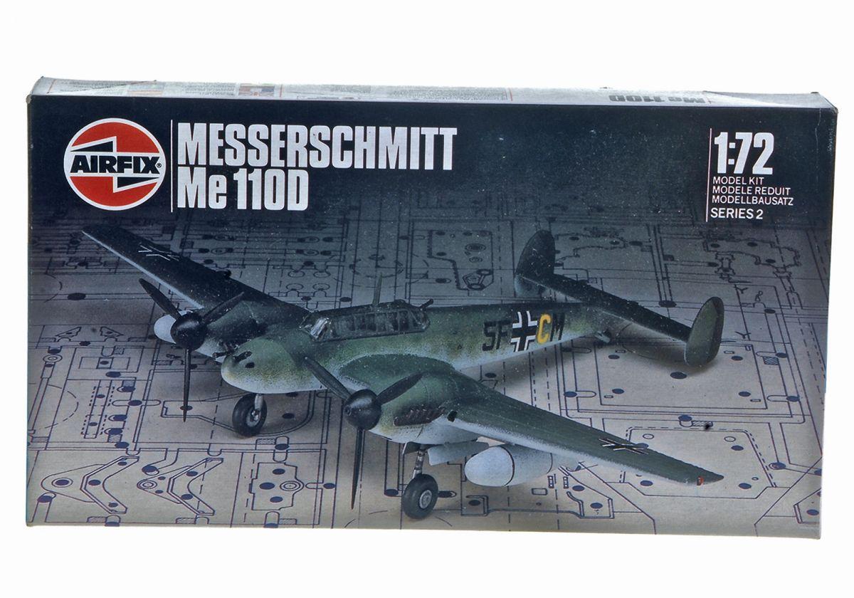 MESSERSCHMITT ME 110 BOMBER - AIRFIX 1/72 scale