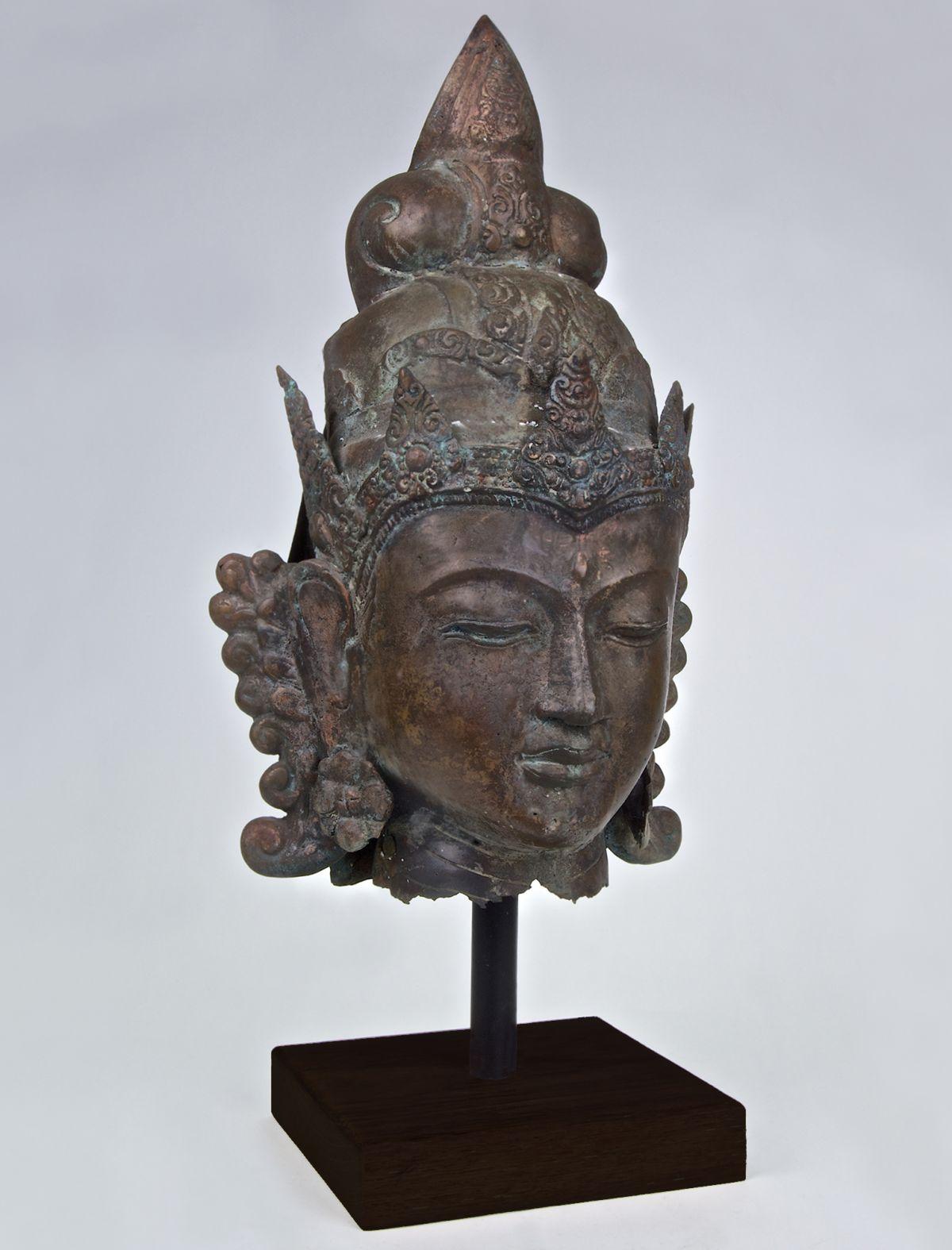 Bronze Shiva Bust