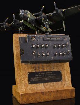 AVRO LANCASTER BOMB SELECTOR CONTROL PANEL