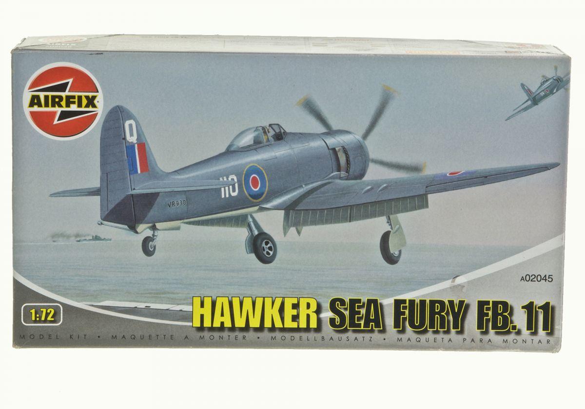 HAWKER SEA FURY FB.11 - AIRFIX 1/72 scale