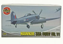 HAWKER SEA FURY FB.11 - AIRFIX 1/72 scale