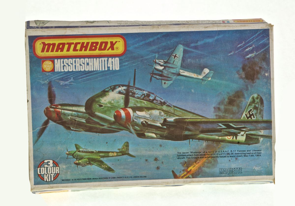 MESSERSCHMITT 410 - MATCHBOX 1/72 scale