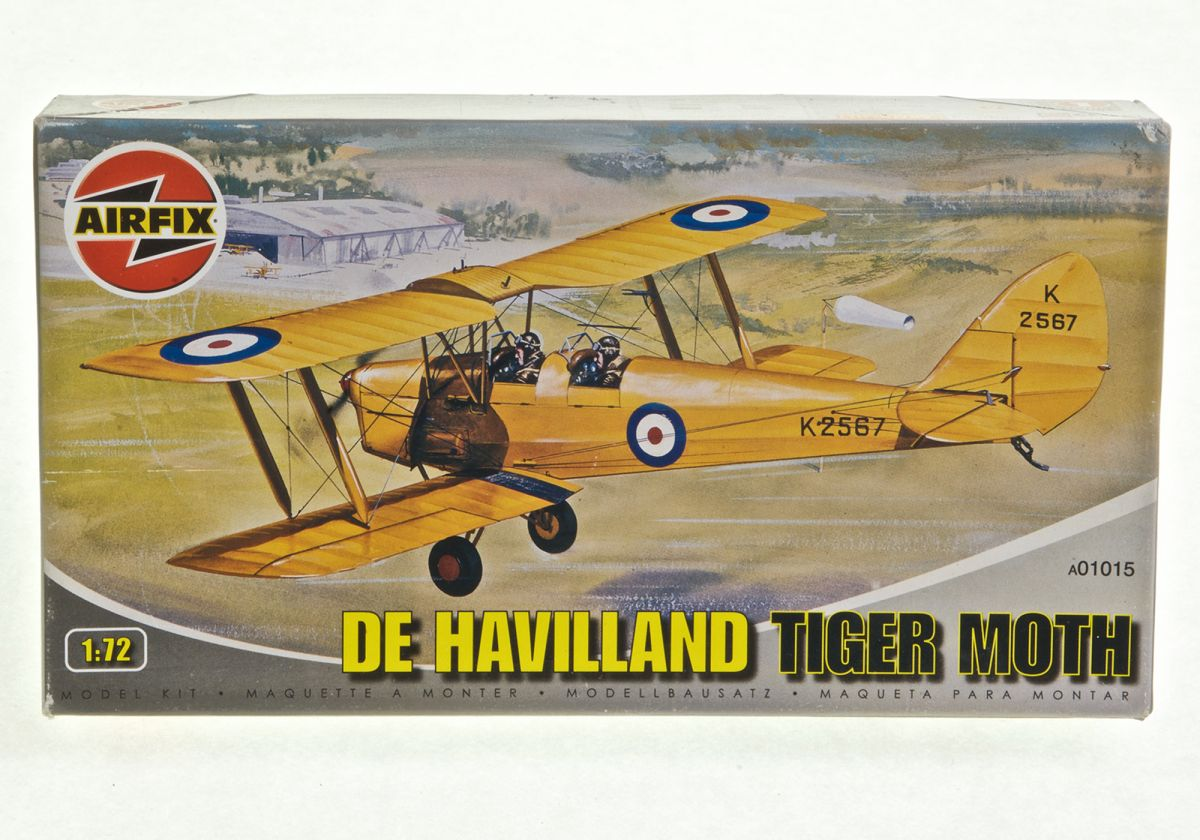 DE HAVILAND TIGER MOTH - AIRFIX 1/72 scale