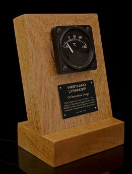 WESTLAND LYSANDER OIL TEMP GAUGE