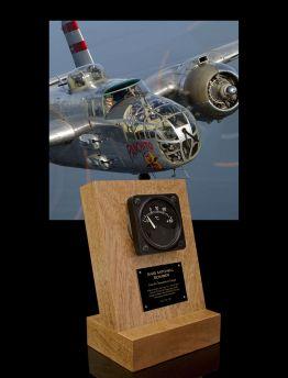 B-25 MITCHELL BOMBER, FREE AIR TEMP GAUGE