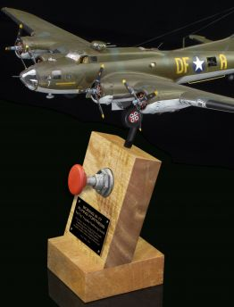 B-17 FLYING FORTRESS 'RED TOP' PROPELLER FEATHERING SWITCH