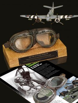 AIR MINISTRY ISSUED MK VIII RAF FLYING GOGGLES