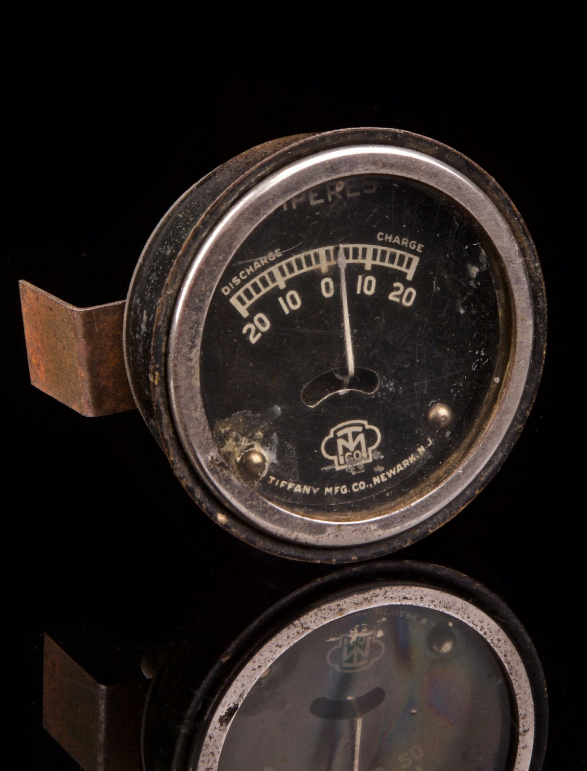 TIFFANY MFG CO AMP METER - STEAM PUNK