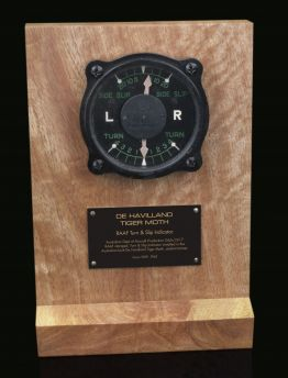 DE HAVILLAND TIGER MOTH, RAAF G6A/3317 TURN & SLIP INDICATOR