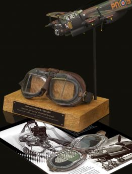 AIR MINISTRY ISSUED MK VIII RAF FLYING GOGGLE