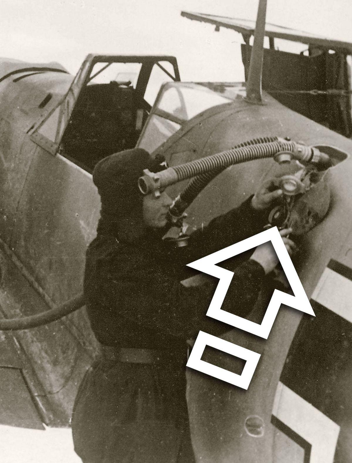 MESSERSCHMITT Bf 109 MAIN TANK, VENTILATED FUEL CAP