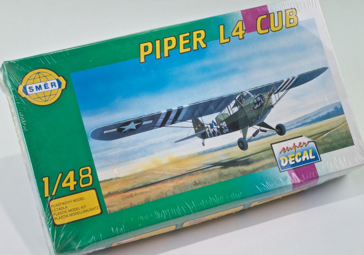 PIPER L4 CUB WWII US ARMY RECCONAISSANCE SPOTTER 1/48 scale