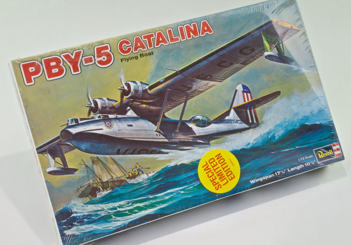 PBY-5 CATaLANA FLYING BOAT - 1/72 Scale Revell