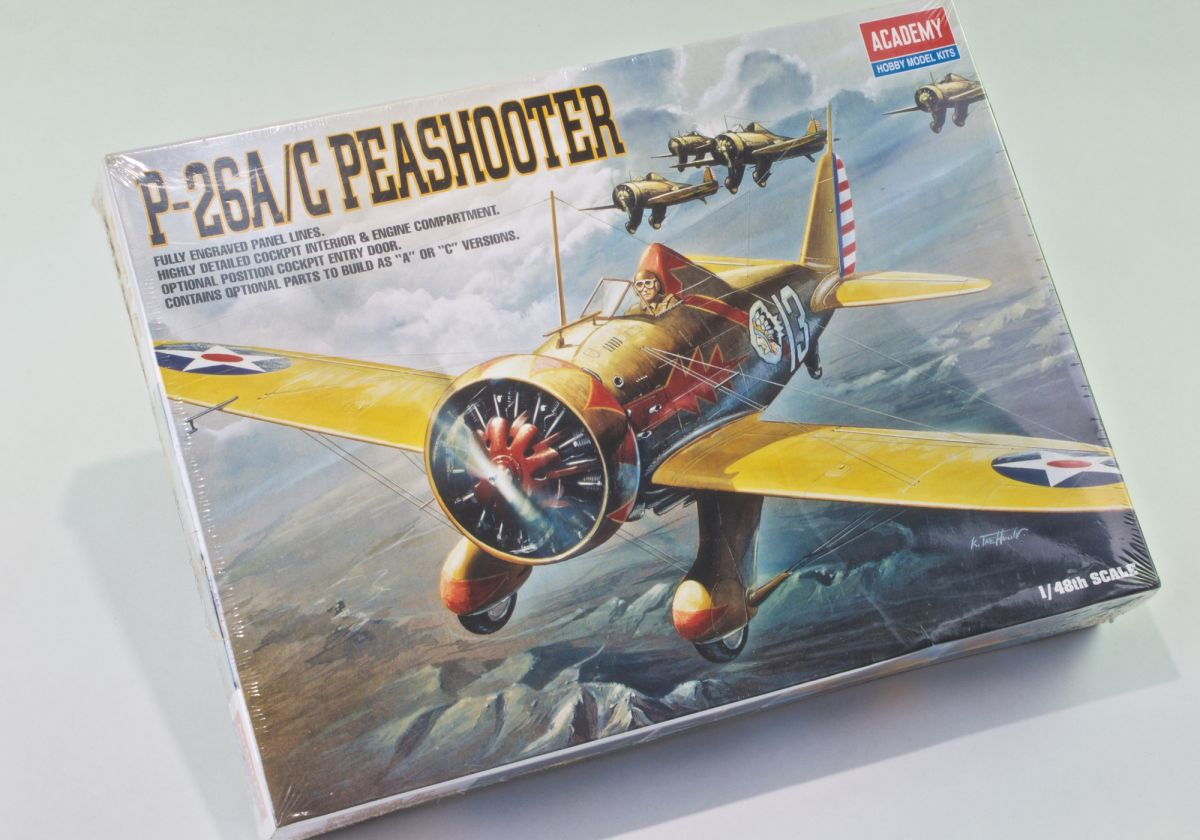 P-26A/C US ARMY 1930s TRAINER/FIGHTER 'PEASHOOTER'
