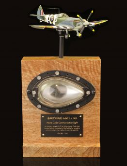 SPITFIRE MORSE CODE COMMUNICATION LIGHT