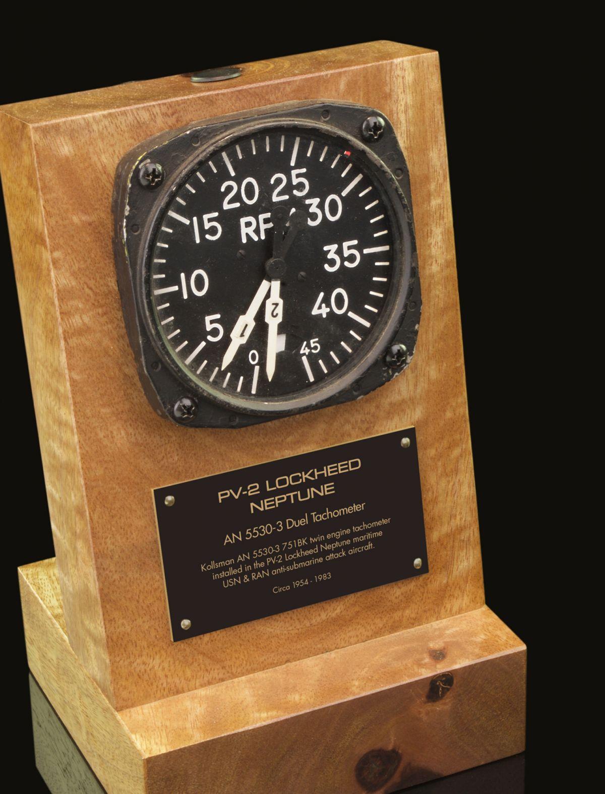 LOCKHEED P2V NEPTUNE DUEL RPM GAUGE