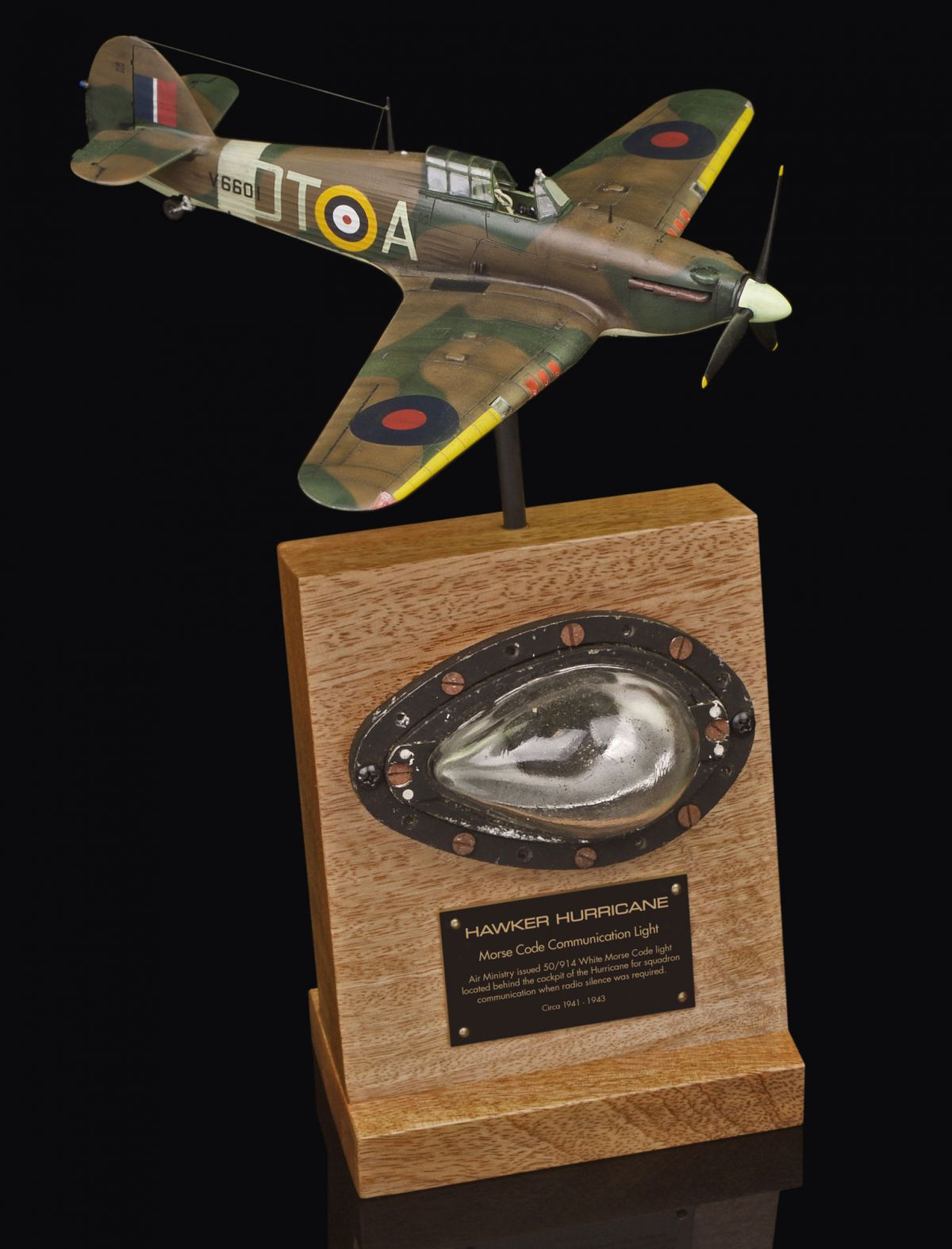 HAWKER HURRICANE MORSE CODE COMMUNICATION LAMP
