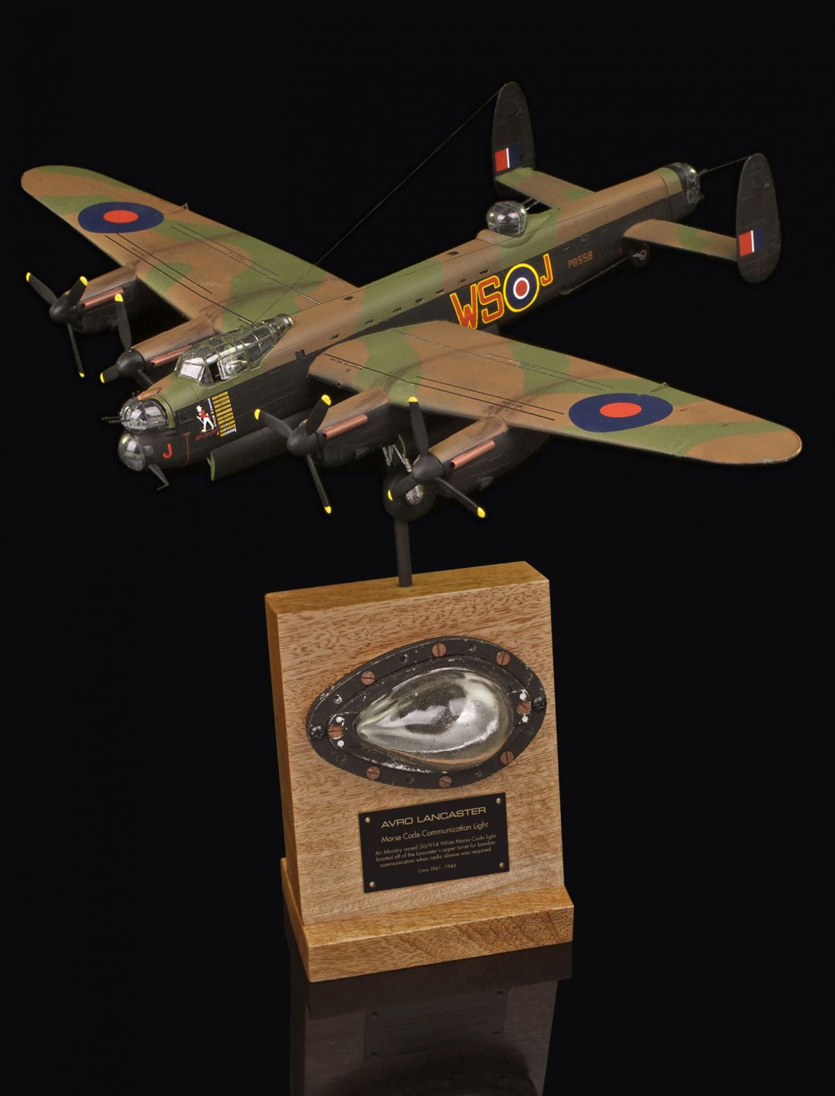 AVRO LANCASTER MORSE CODE COMMUNICATION LAMP