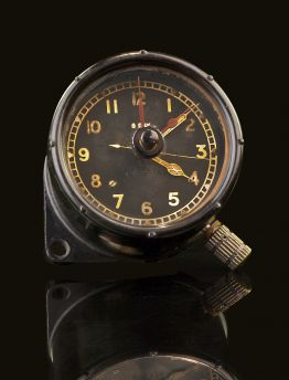 HAWKER TYPHOON 8 DAY COCKPIT CLOCK