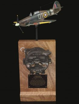 CANADIAN BUILT HAWKER HURRICANE 5c/372 No.2 Mk III MORSE CODE SENDER KEY