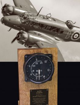 AVRO ANSON AIR MINISTRY 240 MPH AIRSPEED INDICATOR