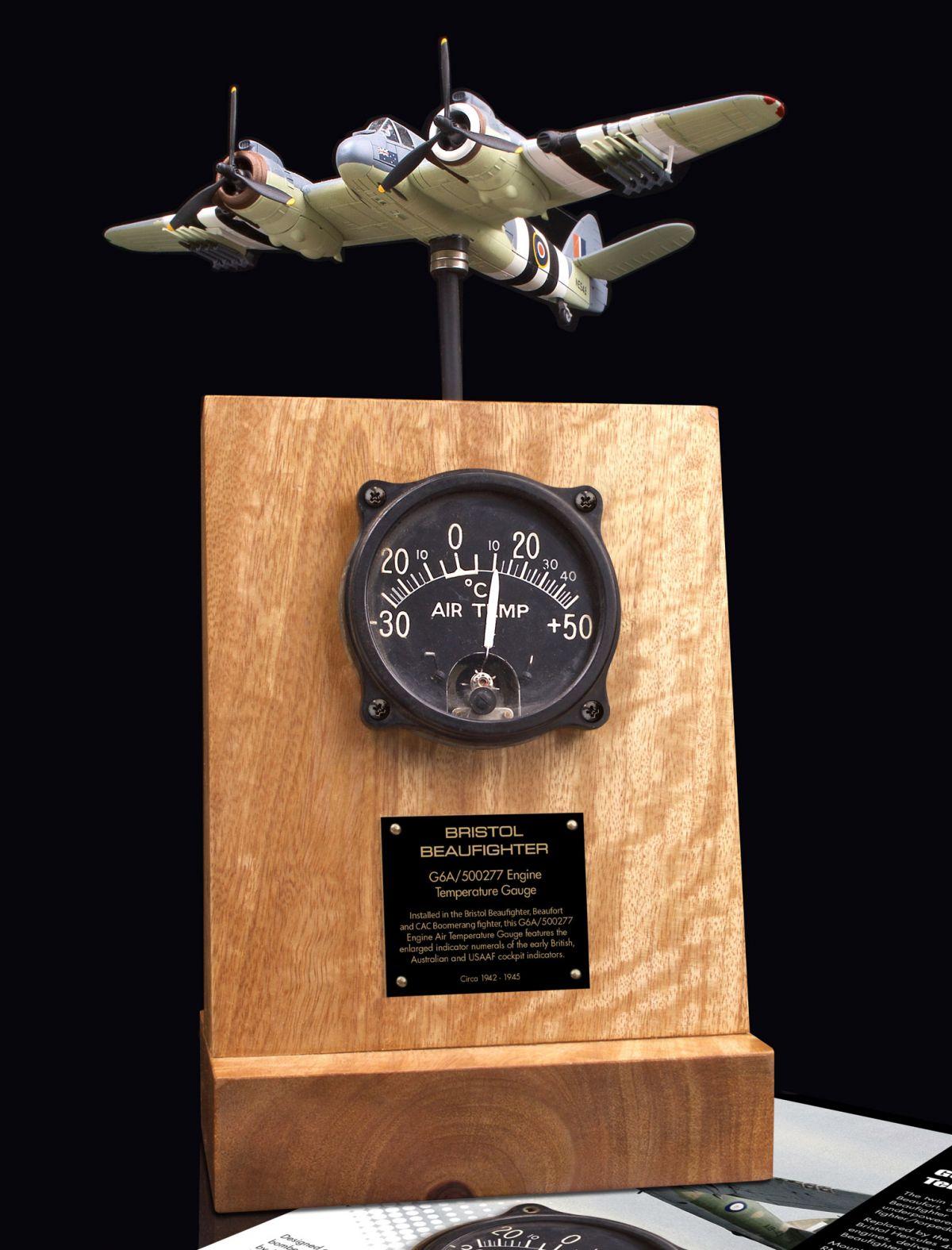 BRISTOL BEAUFIGHTER G6A/500277 ENGINE AIR TEMP GAUGE
