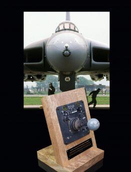 AVRO VULCAN, NAVIGATION & BOMBING SYSTEM (NBS) TYPE 626 RADAR CONTROL JOYSTICK