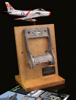 F-86 SABRE JET RUDDER PEDAL