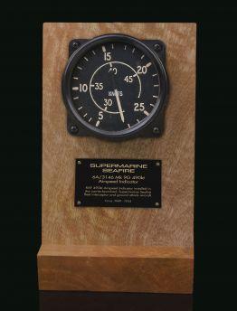 SUPERMARINE SEAFIRE AIR MINISTRY 1949, Mk9G 6A/3146 490 kt AIRSPEED INDICATOR