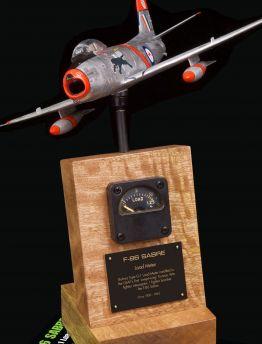 F-86 SABRE JET BULOVA TYPE G-1 LOAD METER