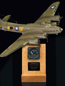 B-17 FLYING FORTRESS COOLANT TEMP GAUGE