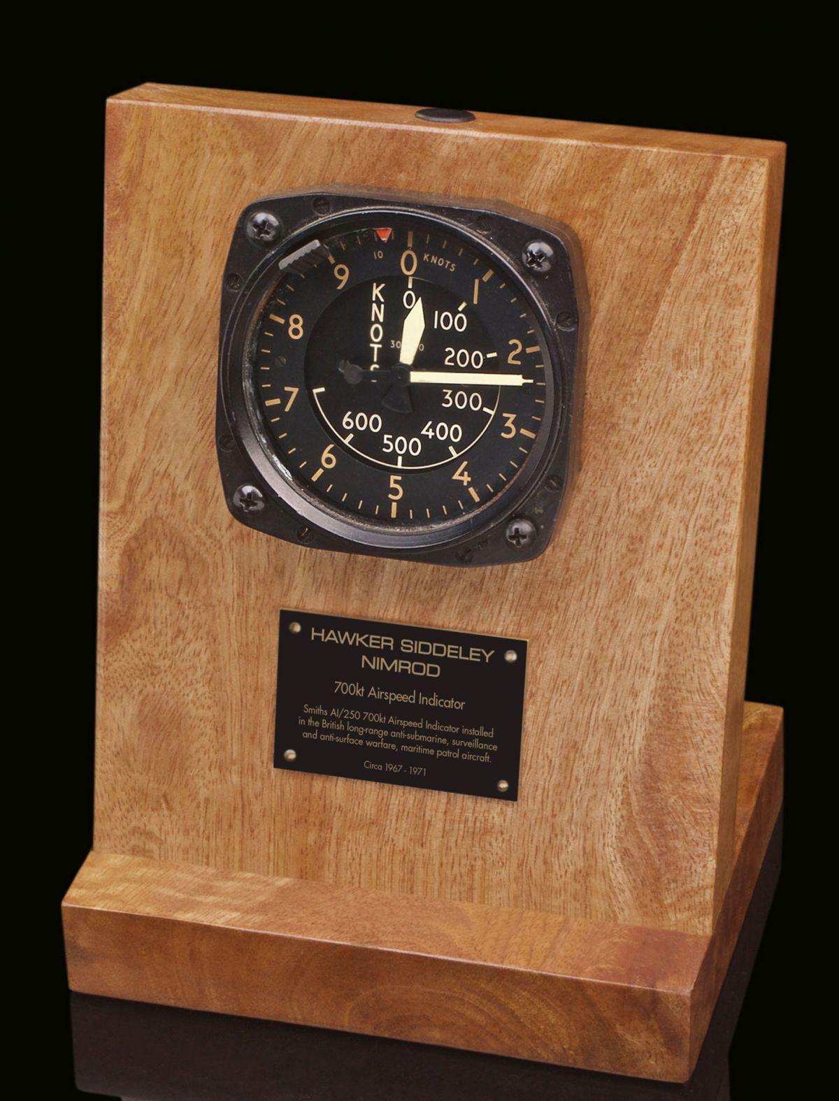 HAWKER SIDDELEY NIMROD 700kt AIRSPEED INDICATOR