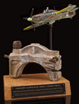 HAWKER HURRICANE ENGINE BEARING CAP FROM BATTLE OF BRITAIN CRASH WRECKAGE