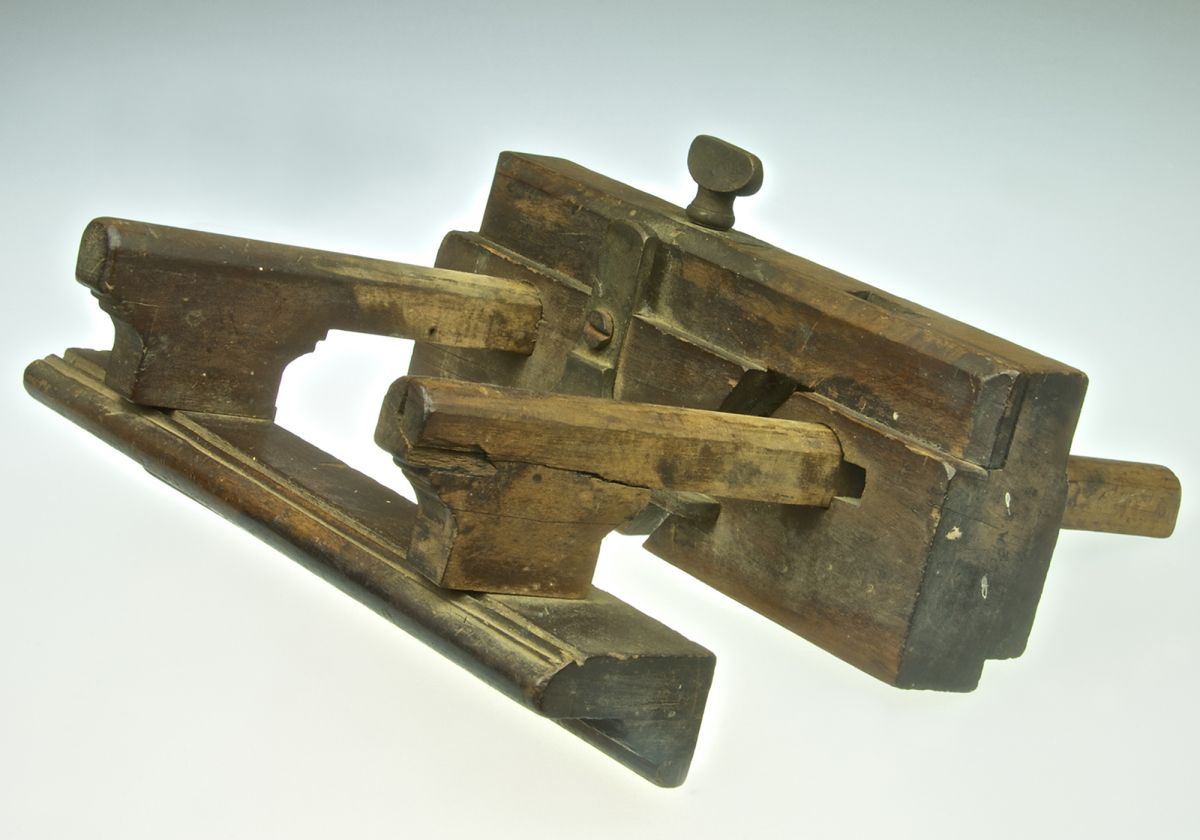 Vintage Wooden Edging Planer