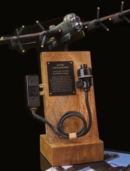 LANCASTER BOMB RELEASE TRIGGER & LEAD