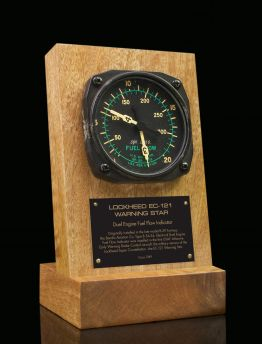 LOCKHEED EC-121WARNING STAR, DUEL ENGINE FUEL FLOW GAUGE