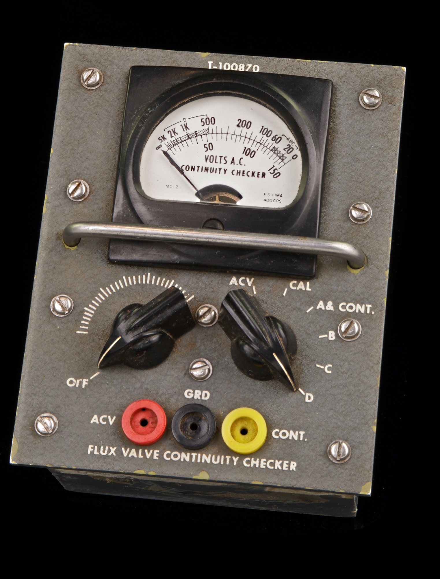 FLUX VALVE CONTINUITY TESTER T-100870