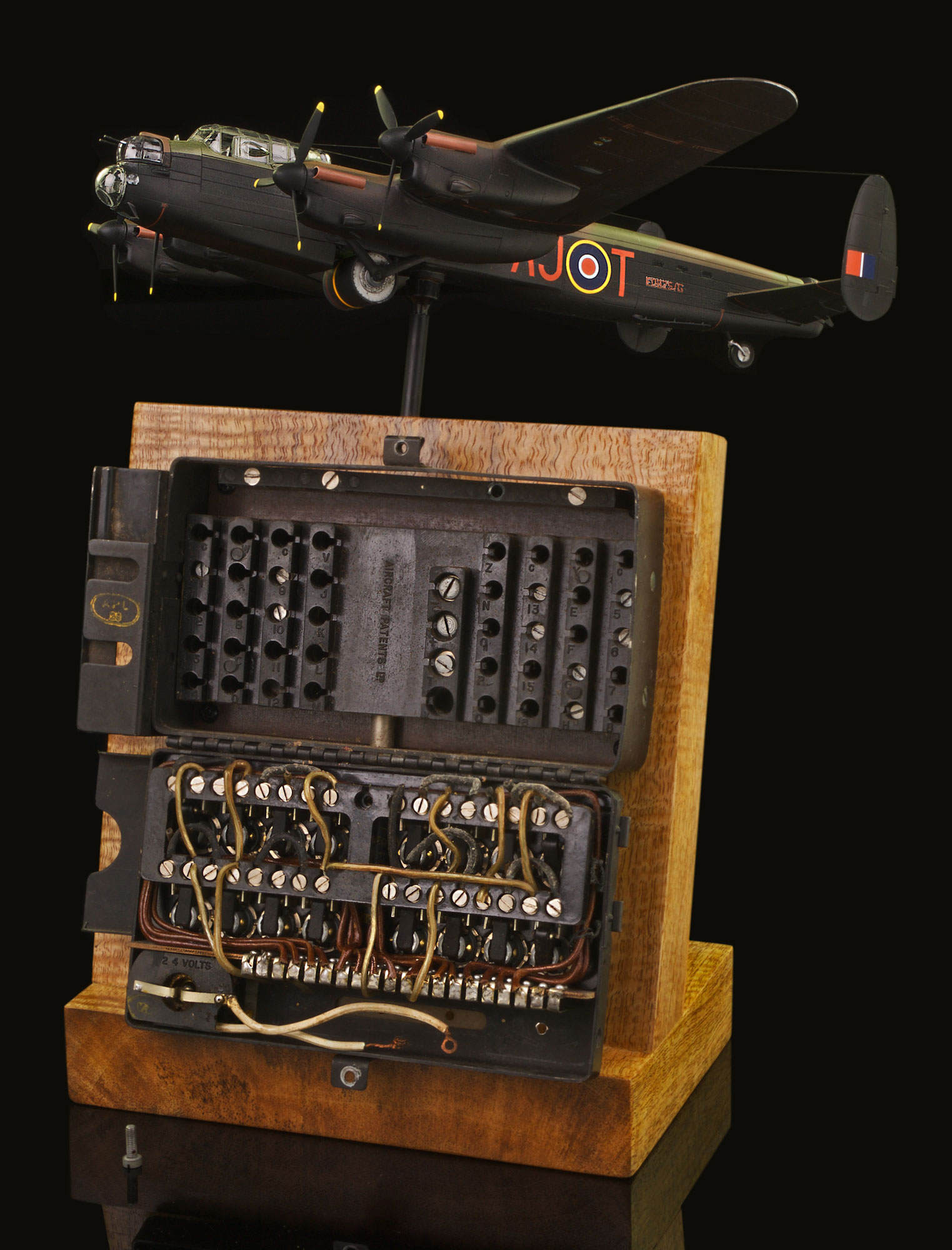 AVRO LANCASTER BOMB SELECTOR CONTROL PANEL