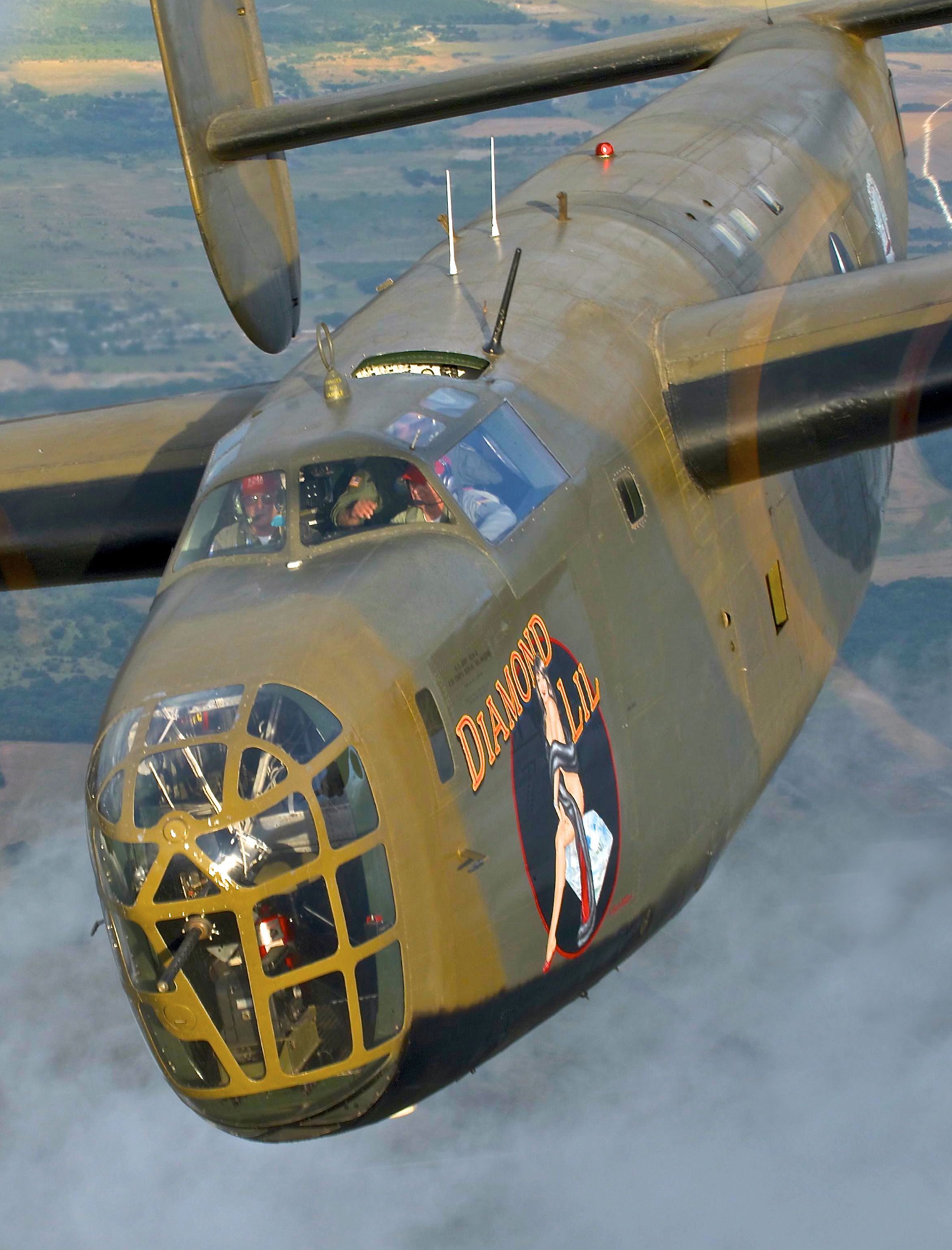 B-24 LIBERATOR 'RED TOP' PROPELLER FEATHERING SWITCH
